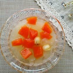 木瓜银耳莲子汤的做法[图]