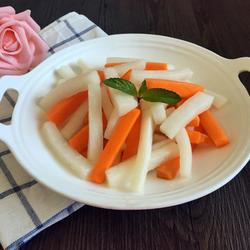 糖醋腌萝卜条的做法[图]