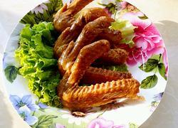 五香卤水鸭翅