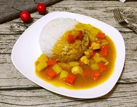 咖喱土豆鸡饭