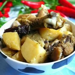 鸡肉炖土豆的做法[图]