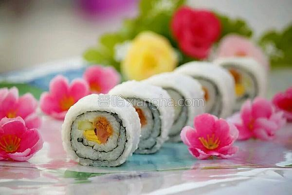 里卷寿司的做法