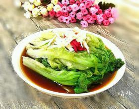 蒜茸蚝油炝生菜