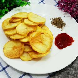 自制零食炸薯片的做法[图]