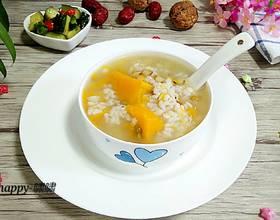 南瓜绿豆薏仁粥