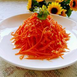 凉拌胡萝卜的做法[图]