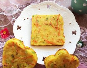 葱香土豆鸡蛋饼[图]