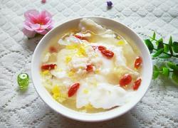 枸杞酒酿煮鸡蛋
