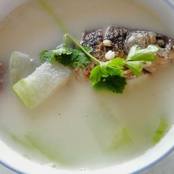 冬瓜薏仁鲫鱼汤的做法[图]