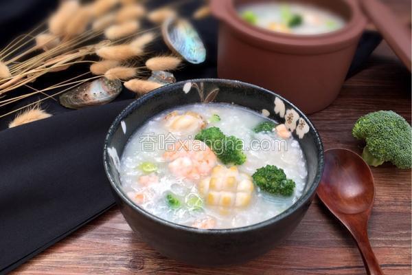 鲜鲍鱼粥的做法大全_鲍鱼鲜虾粥的做法_菜谱_香哈网