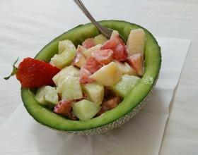 三色水果沙拉
