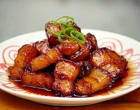 蒜香红烧肉