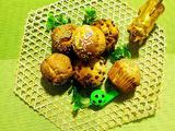 蜂蜜芝麻巧克力豆小蛋糕的做法[图]