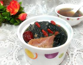 榴莲壳乌鸡汤[图]