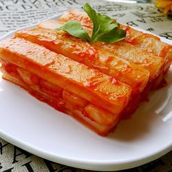 番茄酱炒年糕