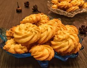 椰香曲奇饼干[图]
