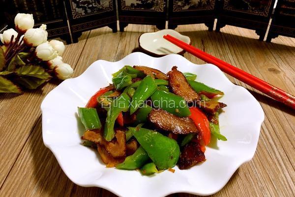 尖椒炒腊肉