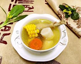 玉米山药炖鸡汤[图]