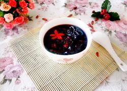 红豆黑米美颜粥