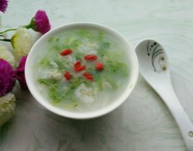 虾米青菜粥