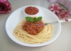 番茄肉末意大利面