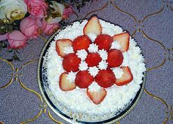 DIY奶油草莓蛋糕