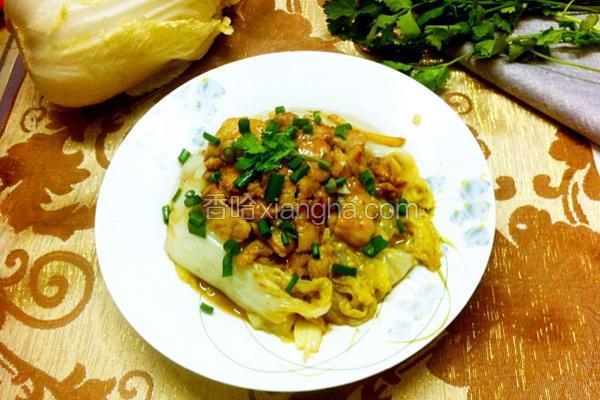 圆白菜炒肉