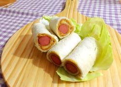香肠卷三明治
