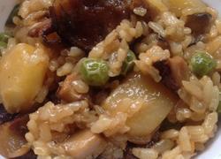 电饭煲之香菇糯米鸡饭