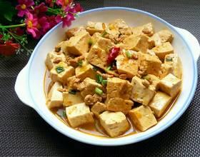 牛肉末烧豆腐[图]