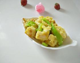 鸡蛋炒馍花