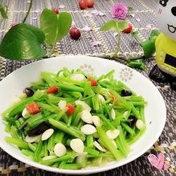 蒜香菠菜梗