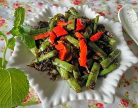 梅干菜干煸豆角