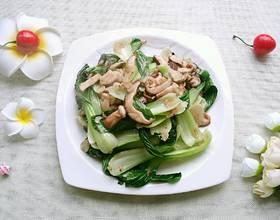 虾皮香菇小白菜