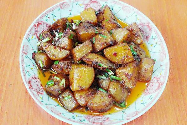 酱土豆的做法