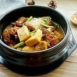 明太鱼炖豆腐