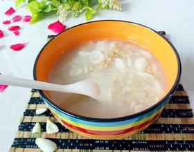 百合燕麦粥