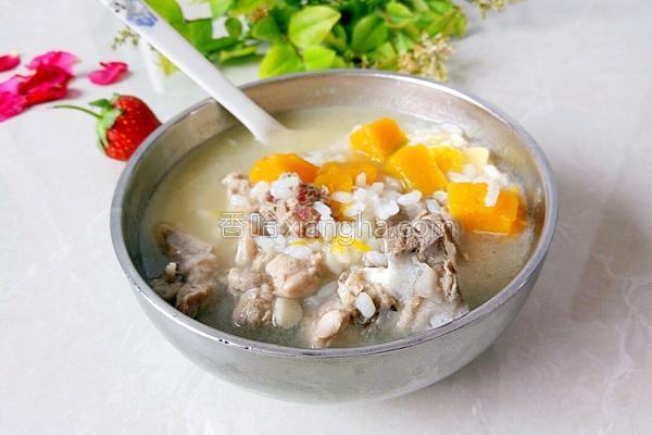 排骨南瓜米粥
