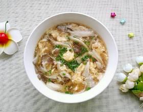 蘑菇鸡蛋汤[图]