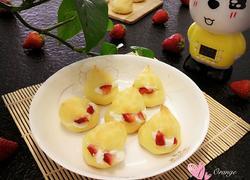 草莓淡奶油泡芙