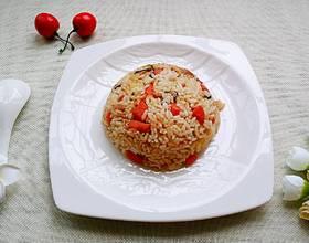 腊味杂蔬焖饭