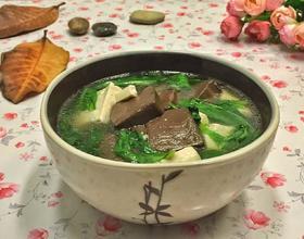 鸭血豆腐汤[图]