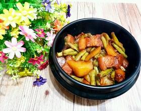 土豆豆角炖肉[图]