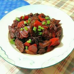 胡萝卜烧牛肉