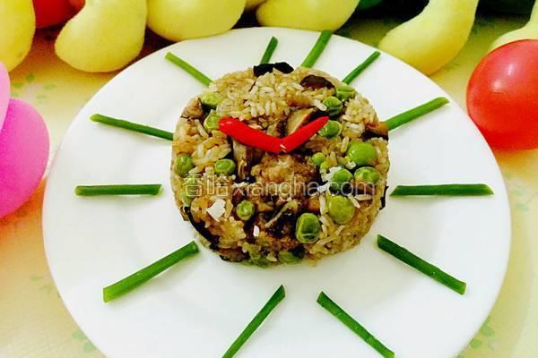 香菇排骨糯米饭