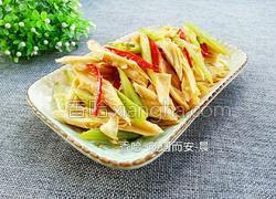 腐竹炒芹菜