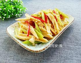 腐竹炒芹菜[图]