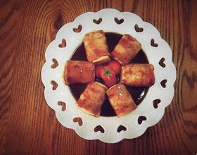 培根豆腐卷
