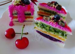 蔬菜水果泥抹茶蛋糕