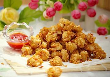 薯片鸡米花